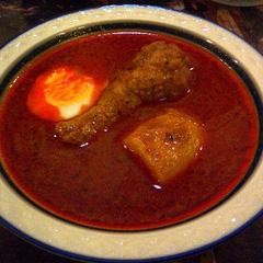 駒沢のスープカレー屋さんピキヌー